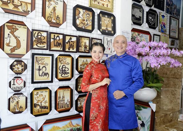d497dc2b186bd304d8e6b7aa854ca975 Tranh gạo Quỳnh Vy và hành trình 10 năm lan tỏa giá trị nghệ thuật