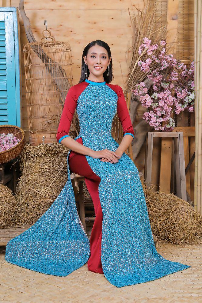 d541205f98a71884b8a85f44e46a240c Top 20 Miss HUTECH 2021 diện Áo dài Việt Hùng, khoe nhan sắc lộng lẫy