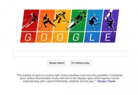 Google để hình nền tháng Đồng tính