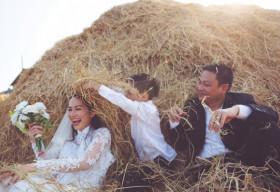 Trọn bộ ảnh cưới lung linh của Kim Hiền