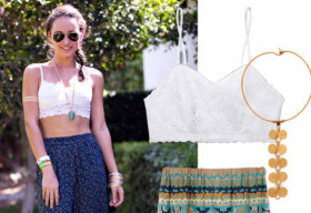 10 cách phối đồ cực chất của thời trang crop-top