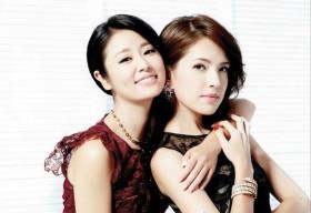 Lâm Tâm Như và Triệu Vy trẻ đẹp trong hậu trường dù đã U40