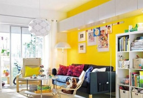 Làm mới không gian sống với màu vàng chanh