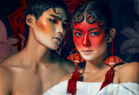 Mâu Thủy, Quang Hùng biến hóa với nghệ thuật tuồng cổ