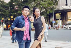 Thùy Trang – Top 10 Miss Ngôi Sao đẹp rạng ngời với thời trang hè cùng hotboy Danny Ngô