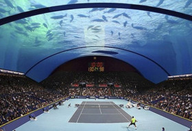 Dubai đề xuất dự án xây dựng sân tennis dưới biển