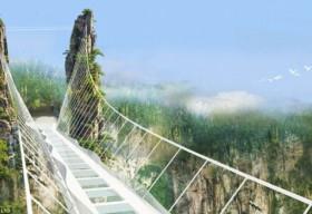 Trung Quốc sắp khánh thành cầu bằng kính cao nhất thế giới