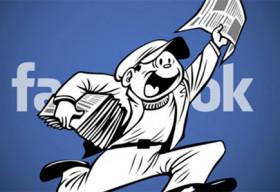 Sắp đến thời đọc báo trực tiếp trên Facebook