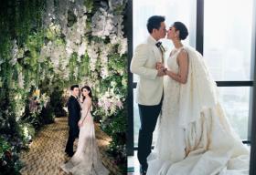 Đại gia đem lâu đài vào đám cưới cho người đẹp Thái Lan