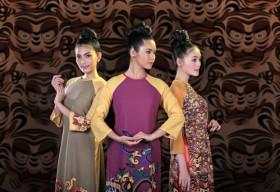 Nhà thiết kế Thuận Việt giới thiệu bộ sưu tập áo dài về Hổ tại New York