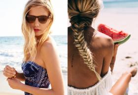 Lấy lại vẻ suôn mượt cho mái tóc sau khi đi bơi hay đi biển