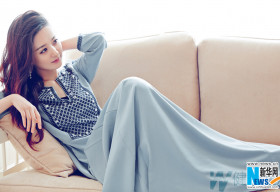 Triệu Lệ Dĩnh thanh lịch, quyến rũ trên bìa tạp chí Woman's Day