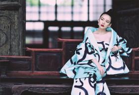 Chương Tử Di đẹp kiêu kỳ với thời trang phong cách Geisha