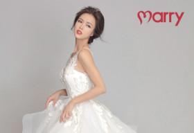 Vũ Ngọc Anh khoe vẻ đẹp mong manh, gợi cảm với áo cưới