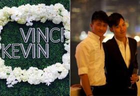 Đám cưới đồng tính đầu tiên của làng giải trí Hồng Kông