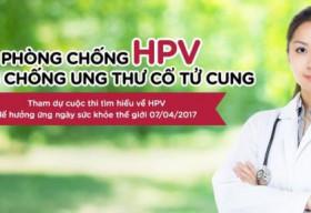 Hội Y học Dự phòng Việt Nam tổ chức cuộc thi phòng chống HPV và ung thư cổ tử cung