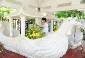 Thăm nhà vườn đẹp như resort của ca sĩ Lâm Hùng