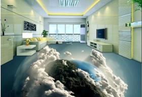 Nhà đẹp mê mẩn với công nghệ sàn 3D