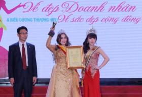 Doanh nhân Cao Thị Hoa: 'Giải thưởng là động lực nhắc tôi phấn đấu nhiều hơn'