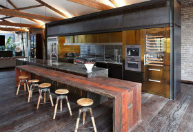 Mãn nhãn với 10 căn bếp tuyệt đẹp mang phong cách công nghiệp