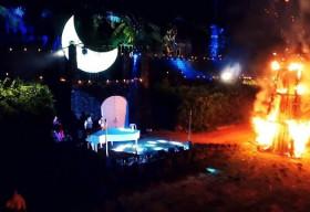 Lễ Vu Lan: Trải nghiệm đêm hoa đăng tại làng quê 'sát vách' Sài Gòn