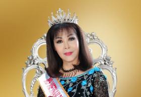 'Hoa hậu Phu nhân' Ngô Xuân Dung: 'Phụ nữ biết chăm sóc sắc đẹp sẽ trẻ mãi không già'