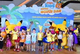 Ngày hội POPS Kids – Thế giới thần tiên, nơi quy tụ hàng loạt nhân vật hoạt hình yêu thích