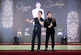 Sao Việt nô nức kéo nhau đến dự sinh nhật Hồ Việt Trung