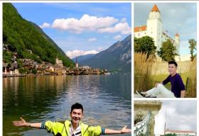 Đoan Trường hào hứng khoe ảnh 'check in' cùng lúc 3 quốc gia châu Âu