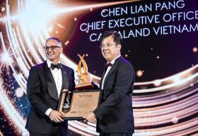 TGĐ Chen Lian Pang của CapitaLand Việt Nam được vinh danh là Nhân vật bất động sản của năm 2019