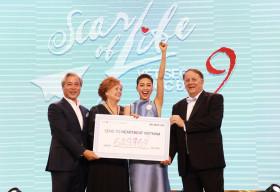Ngô Thanh Vân cùng ekip 'Vết sẹo cuộc đời' quyên góp được hơn 14.5 tỷ, giúp trẻ em bệnh tim bẩm sinh