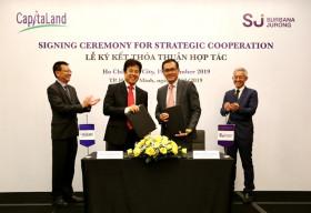 CapitaLand Việt Nam và Surbana Jurong hợp tác phát triển giải pháp cho các dự án đô thị thông minh bền vững tại Việt Nam