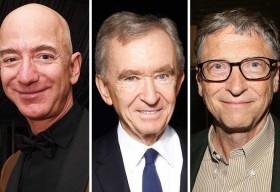 Tỷ phú Pháp 'chớp nhoáng' giành ngôi giàu nhất thế giới của ông chủ Amazon Jeff Bezos