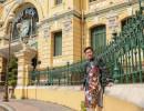 Ca sĩ Quốc Đại tìm lại nét hoài cổ giữa Bưu điện Trung tâm Sài Gòn