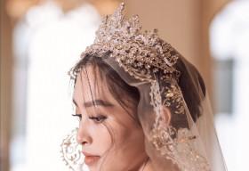 Hoa hậu Tiểu Vy hóa cô dâu đầy thần thái, cuốn hút mọi ánh nhìn