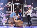 'Nữ hoàng quần vợt' Thuỳ Dung tôn vinh bánh mì trên sân khấu Trời Sinh Một Cặp