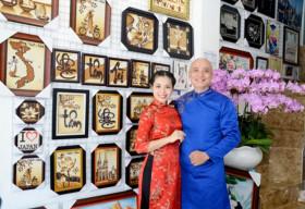 Tranh gạo Quỳnh Vy và hành trình 10 năm lan tỏa giá trị nghệ thuật