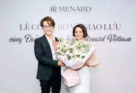 Hà Anh Tuấn trở thành đại sứ thương hiệu mỹ phẩm cao cấp Menard Việt Nam