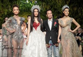Hoa hậu Khánh Vân lần đầu mang vương miện Brave Heart lên sàn diễn thời trang