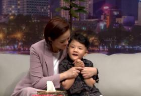 Thu Quỳnh vỡ òa hạnh phúc khi con trai 5 tuổi nói sẽ bảo vệ mẹ
