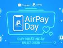 Giảm ngay 100K cho người dùng ví AirPay, duy nhất lúc 0h01' ngày 09/07 tại Shopee