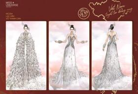 Công bố Top 16 Bảng Tự Do cuộc thi thiết kế trang phục dân tộc tại Miss Universe 2020