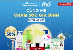 P&G mở đợt sale độc quyền trên Shopee, các mẹ truyền nhau bí kíp săn sale hời gấp đôi với ví AirPay