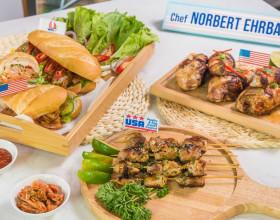Vào bếp cùng bếp trưởng Norbert Ehrbar với món Gà Mỹ