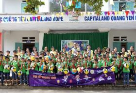CapitaLand trao quà và học bổng cho hơn 1.400 học sinh tại 4 trường CapitaLand Hope nhân dịp Trung thu