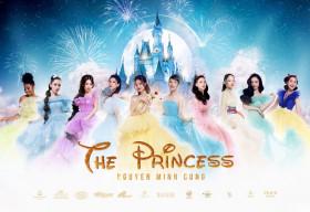 10 ngọc nữ showbiz 'đọ sắc' trong poster show diễn The Princess của NTK Nguyễn Minh Công