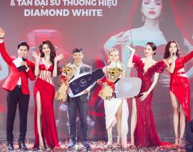 Ngọc Trinh chi 10 tỉ tổ chức Lễ ra mắt sản phẩm mới & Tân Đại sứ thương hiệu Diamond White