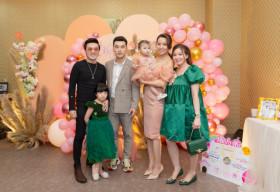 Vợ chồng Ưng Hoàng Phúc – Kim Cương tổ chức tiệc sinh nhật tròn 1 tuổi cho con gái