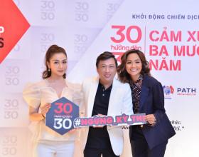 Đông đảo nghệ sĩ Việt hưởng ứng chiến dịch chấm dứt AIDS tại Việt Nam vào năm 2030