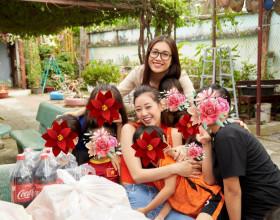 Hoa hậu Khánh Vân trở lại thăm ngôi nhà OBV, sửa chữa cơ sở hạ tầng cho các bé gái